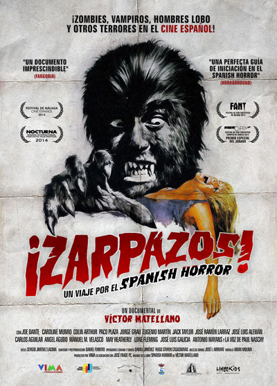 Cartel Zarpazos. Documental Victor Matellano