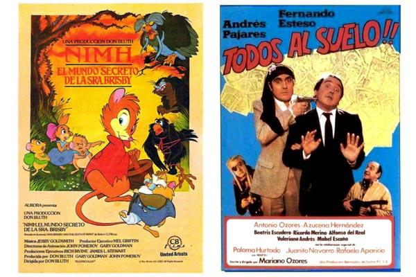 Programa doble cine años ochenta