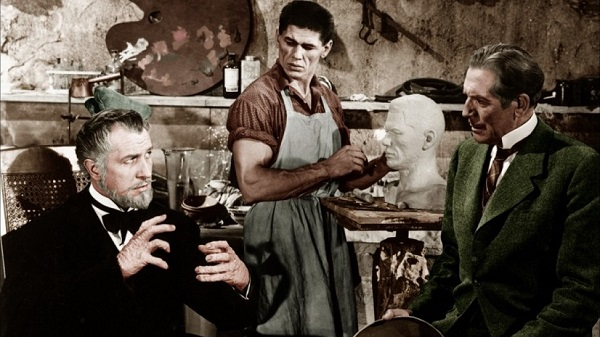House of Wax. Vicent Price. Charles Bronson