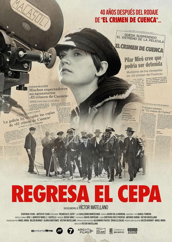 Cartel película Regresa El Cepa