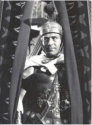 "Conrado San Martín. Pompeyo. ""King of Kings"" (1961, NIcholas Ray) A Samuel Bronston Production"